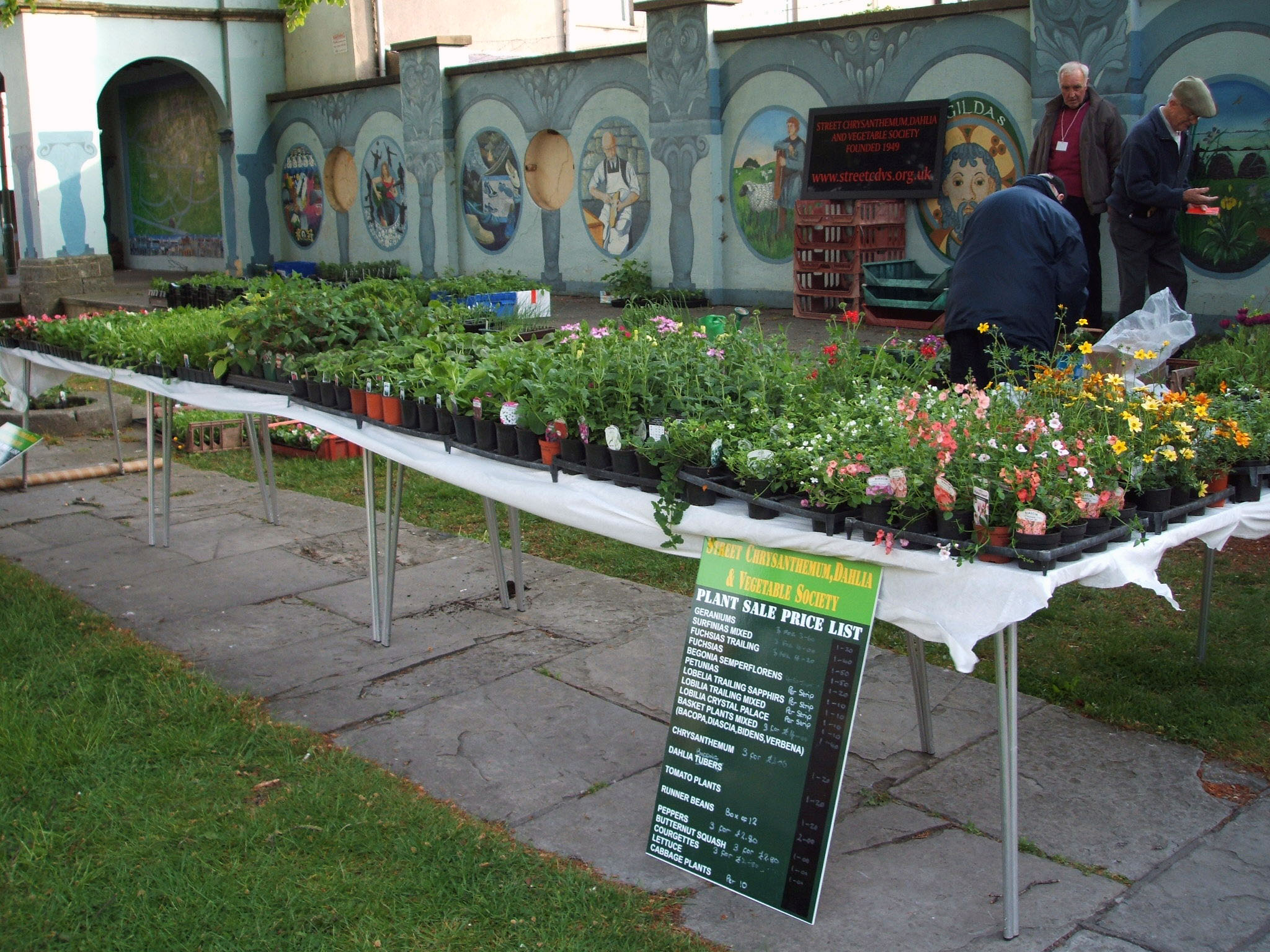Annual Show and Plant Sale 2016